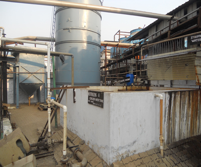 ETP plant of high quality yarn manufacturing company in Surat
